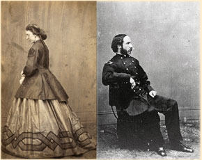 Clara Harris & Major Henry Rathbone