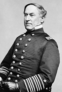 David Glasgow Farragut Union Vice Admiral
