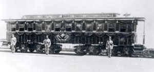 "The train car called ""United States"" was used as Lincoln's Funeral Car."