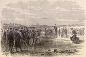 Execution of Deserter by firing squad