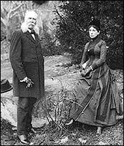 John B. Bachelder and wife 1890