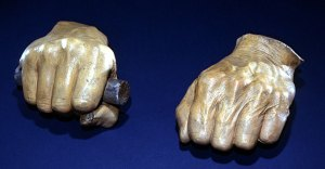 Cast hands by Leonard Volk