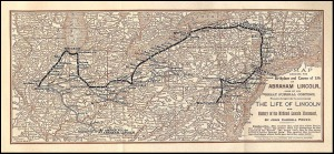 Lincoln Funeral Train Route (Apr 21 - May 3, 1865)