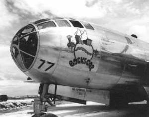 B-29 Bockscar Superfortress bomber