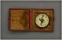 Booth's compass found on him after his death