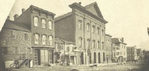 Ford's Theatre circa 1860s