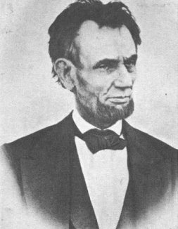 Last known photo of Lincoln taken March 6, 1865 by Henry Warren