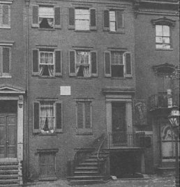 Peterson House across the street from Ford\'s Theatre, Washington DC