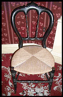 Chair from Presidential Box at Ford's Theatre April 14, 1865