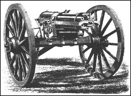 La fabuleuse histoire de la Gatling Fwwgatling