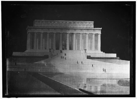 Conceptual drawing from the approved proposal for the Lincoln Memorial