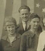 Muriel Isaacs, Clarence Isaacs and Ada Dixon