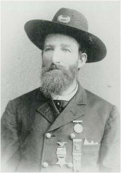 Sergeant George E. Dixon.