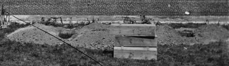 CU - Pine Gun Boxes & Pre-Dug Graves (TPB)(596)
