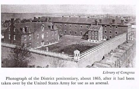 Old Arsenal Penitentiary Shot 1865