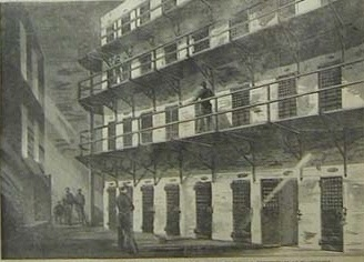 Inside view of Arsenal Penitentiary