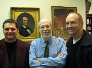 Yours truly, Abe, Harold Holzer and John Elliott