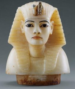 Canopic stopper from King Tut's tomb