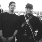 Norman Reedus (Lewis Powell) with Barry Cauchon
